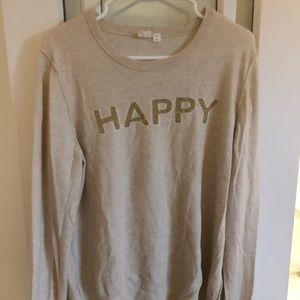 Gap HAPPY sweater